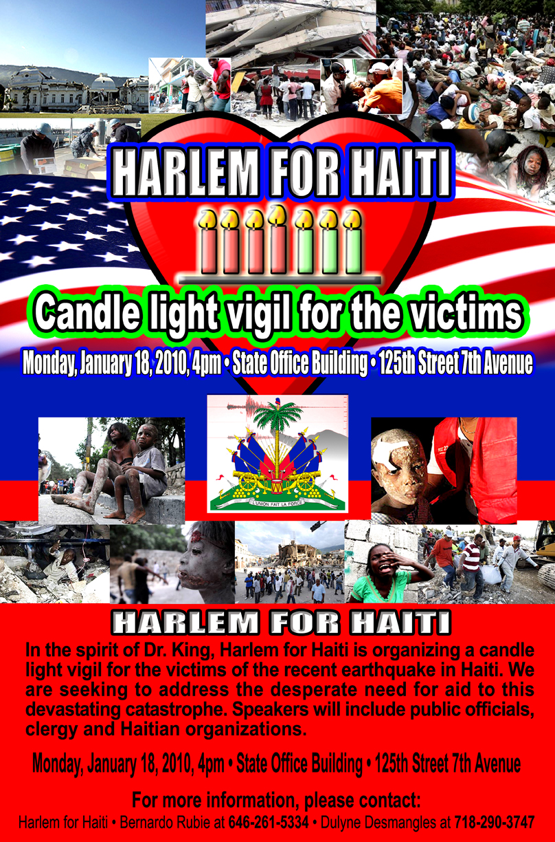 Harlem for haiti 11 X17  72 DPI